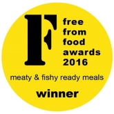 Winner of a 2016 FreeFrom Foods Award