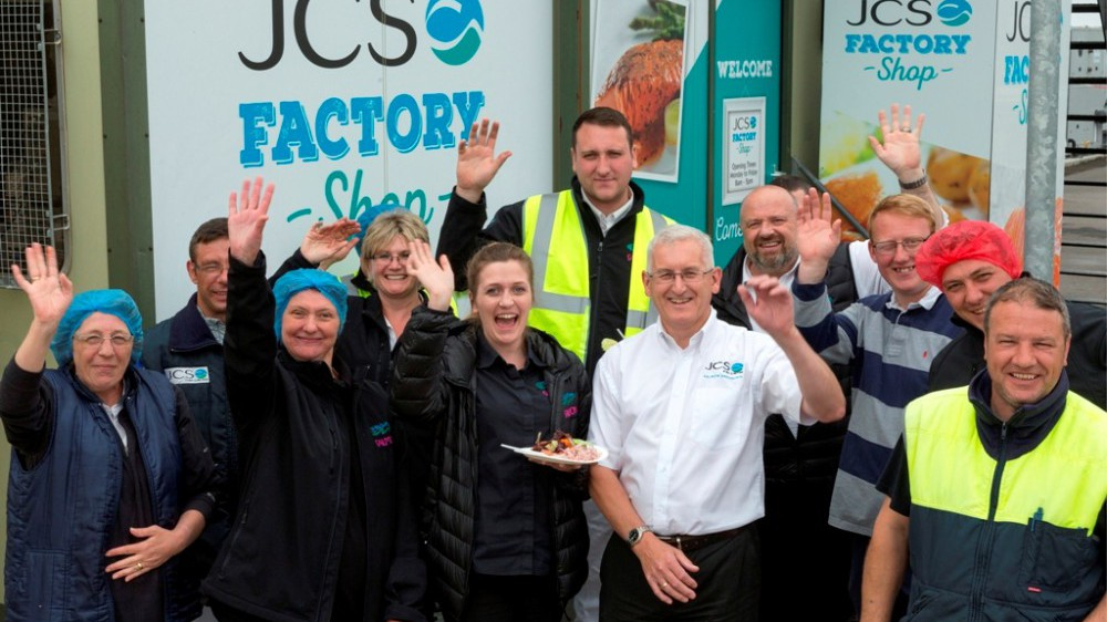 The team at JCS Fish in Grimsby celebrated the BRC A Grade with a staff barbecue