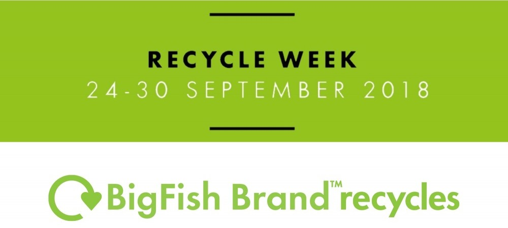 BigFish Brand recycles for Recycle Week 2018