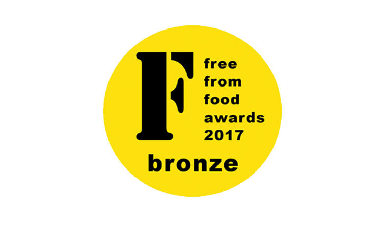 Winner of a FreeFrom Food Awards 2017 Bronze