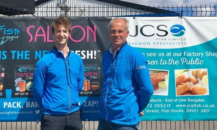 Jack and Andy in their Triathlon Challenge jackets!