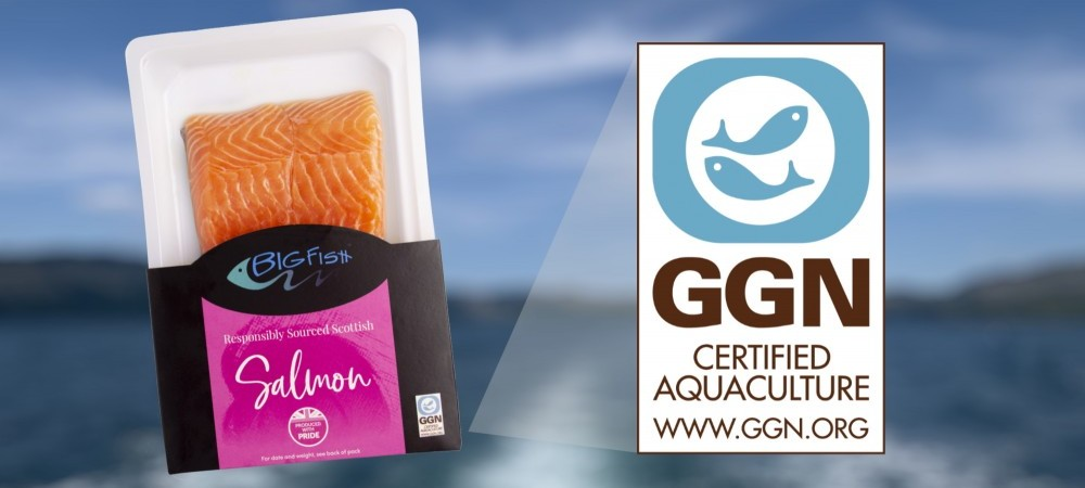 Our salmon is GGN certified