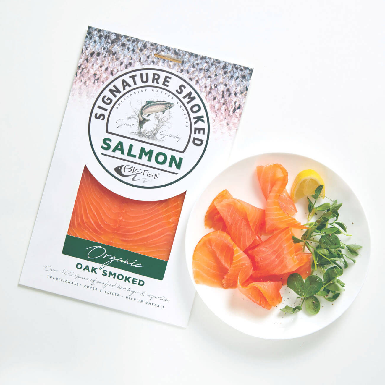 Oak Smoked Salmon