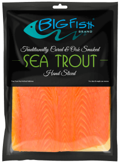 BigFish Brand Traditional Oak Smoked Sea Trout