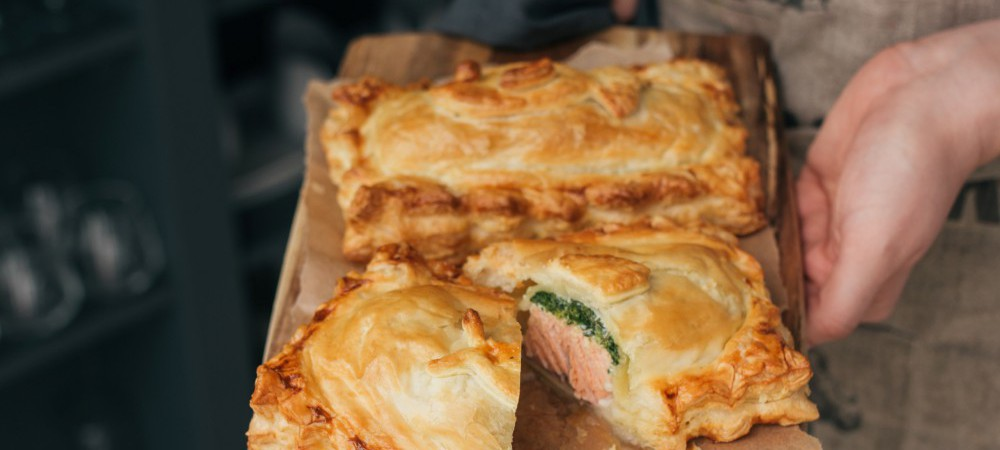 A classic recipe for tasty Salmon en Croute