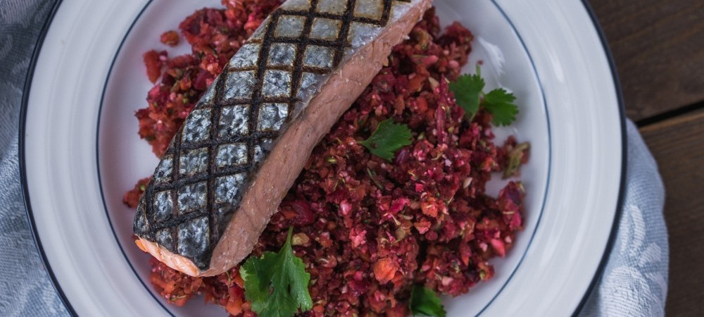 A Quick Healthy And Delicious Summer Recipe With Salmon And Quinoa Big Fish